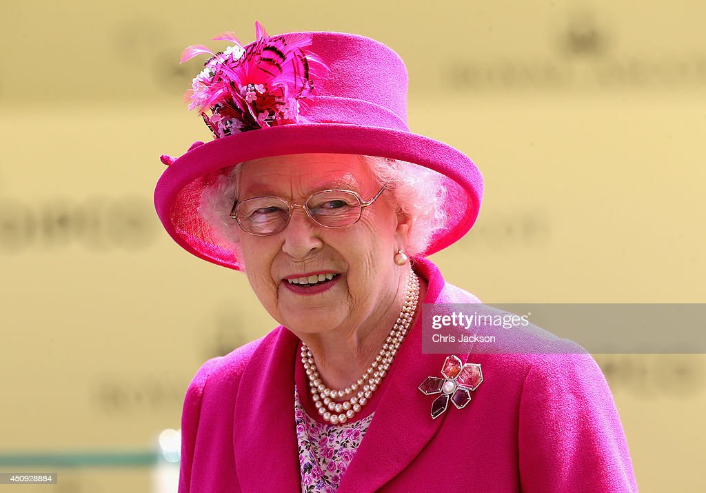 Queen Elizabeth II attends day four of Royal Ascot 2014 at Ascot Racecourse on June 20, 2014 in Ascot, England.