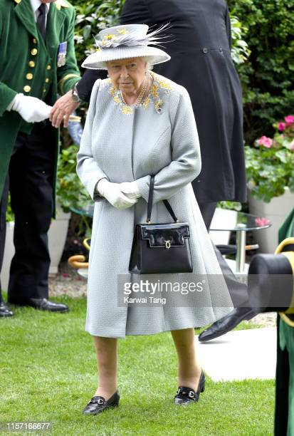 Queen Elizabeth II attends day three, Ladies Day, of Royal Ascot at Ascot Racecourse on June 20, 2019 in Ascot, England.