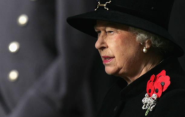 Queen Elizabeth II attends Remembrance Sunday ceremonies on November 11 2007 in London Queen Elizabeth II led the Remembrance Sunday ceremony...