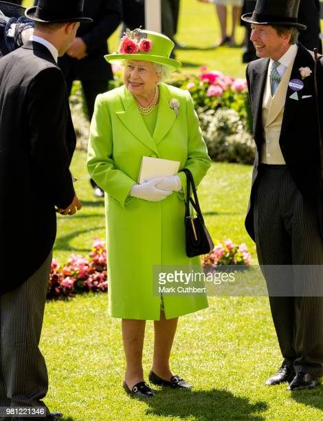 Johnno Spence attends day 4 of Royal Ascot at Ascot Racecourse on June 22 2018 in Ascot England