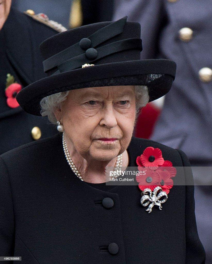The UK Observes Remembrance Sunday : News Photo