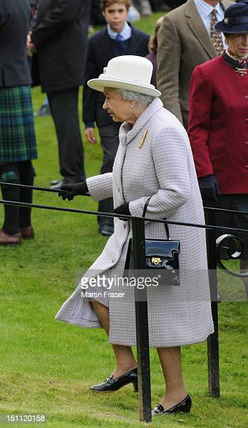 Queen Elizabeth II attends the Braemar Highland Gathering in September 1 in Braemar Scotland