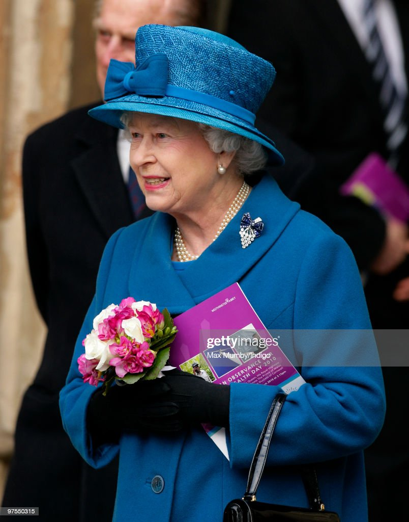 Commonwealth Day Observance Service Held At Westminster Abbey : News Photo