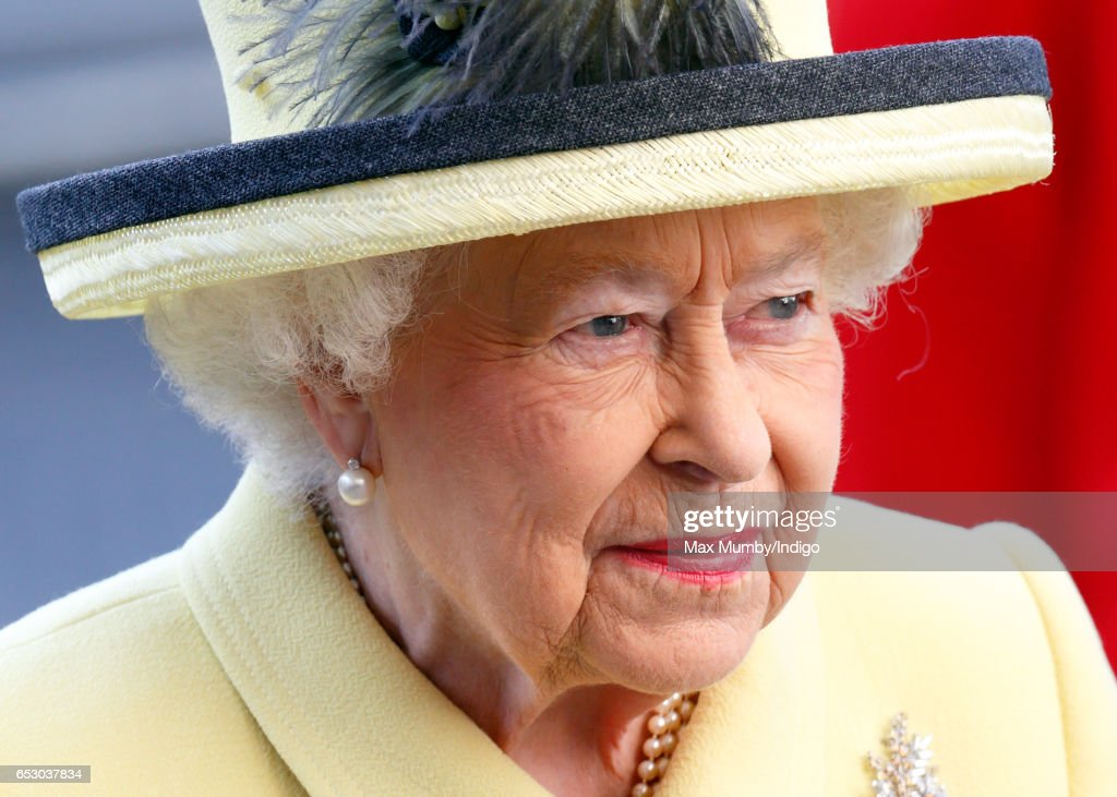 Queen Elizabeth II attends the Commonwealth Day Service at Westminster Abbey on March 13, 2017 in London, England.