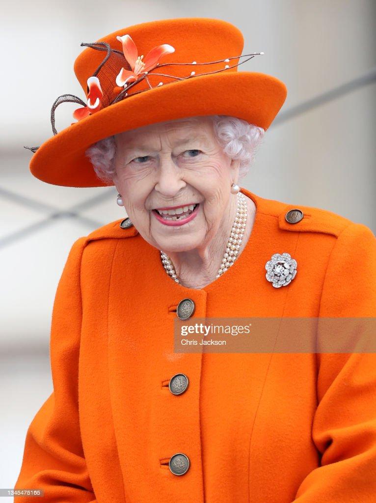 The Birmingham 2022 Queen's Baton Relay Launch : News Photo