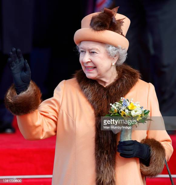 Queen Elizabeth II attends the official opening of the new National Assembly for Wales Building , home of the Welsh Parliament on March 1, 2006 in...
