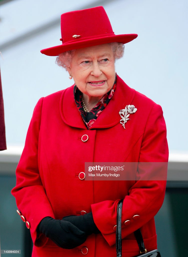 Queen Elizabeth II Visits Greenwich : News Photo