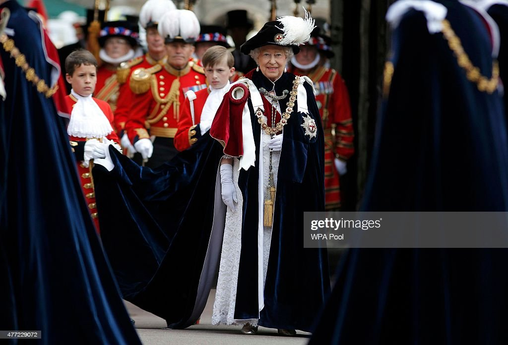 Service Of The Order Of The Garter : ニュース写真