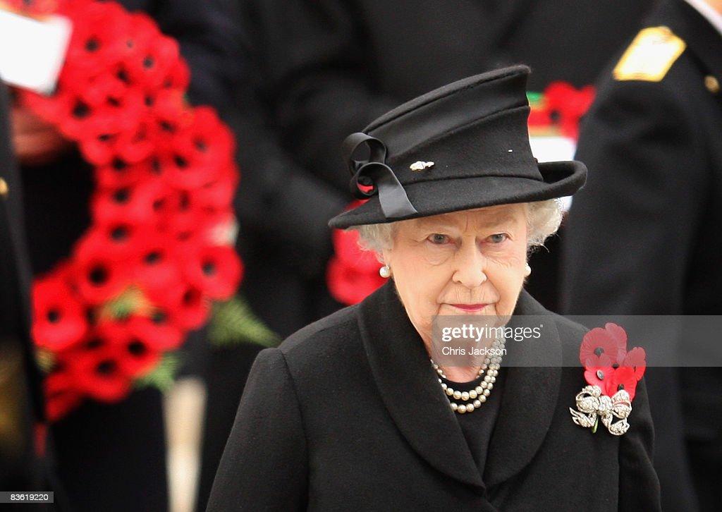 Remembrance Sunday - Cenotaph Service : News Photo