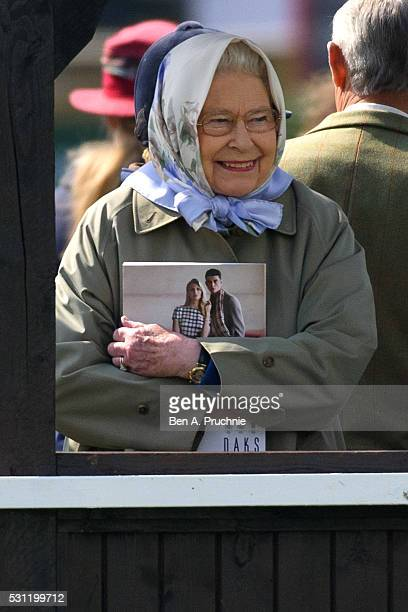 Queen Elizabeth II attends The Royal Windsor Horse Show on May 13 2016 in Windsor England