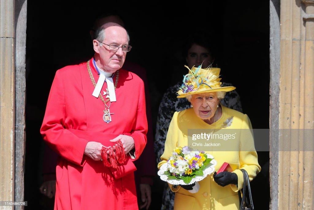 Royal Maundy Service : Fotografia de notícias