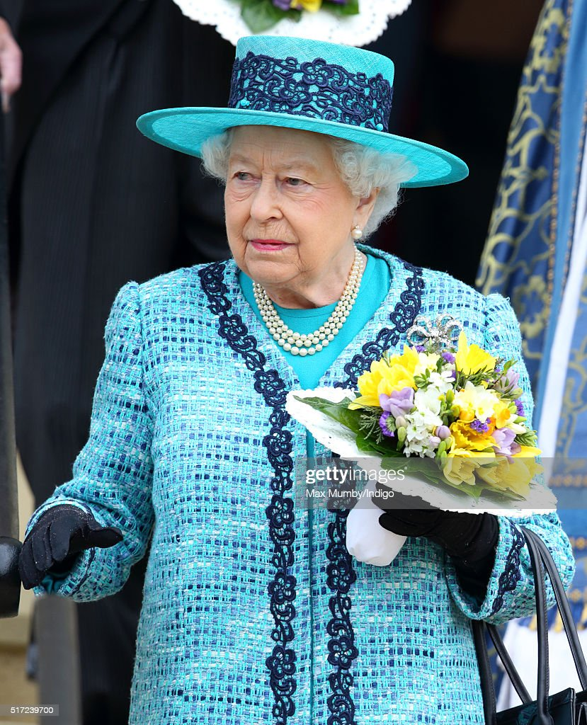 The Queen And The Duke Of Edinburgh Attend The Royal Maundy Service : News Photo