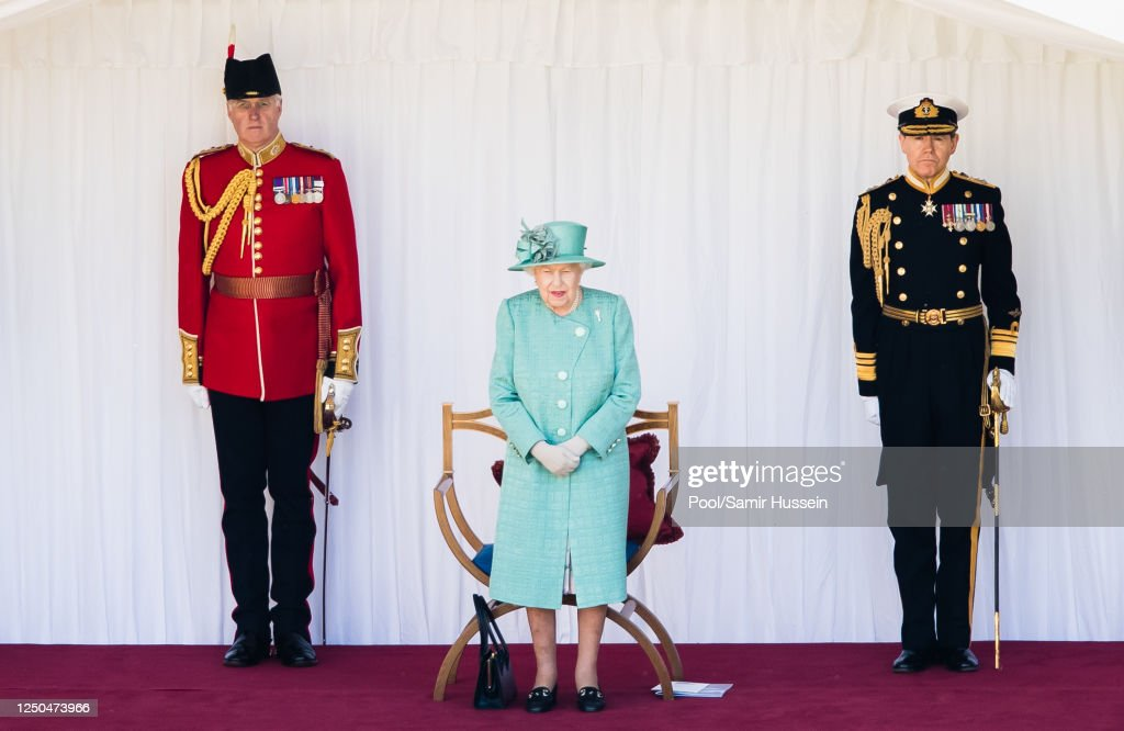 Trooping The Colour 2020 : News Photo