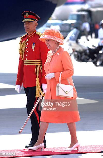 Queen Elizabeth II Beginning Her Jubilee Tour In This Commonwealth Country Just Three Days After The Funeral Of Her Younger Sister Changing From Her...