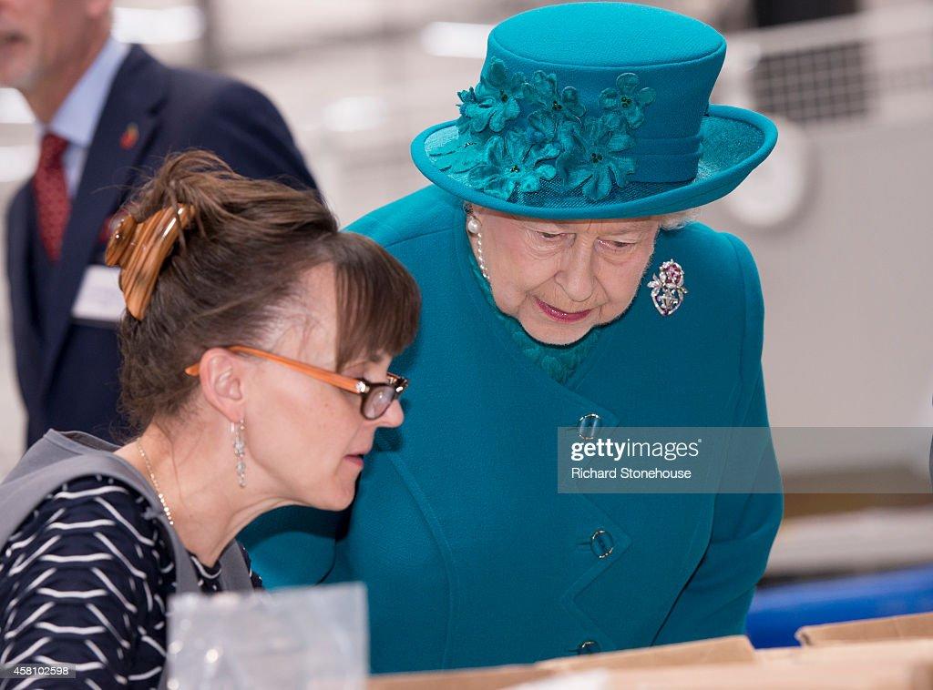 The Queen And Duke Of Edinburgh Visit Wolverhampton : News Photo