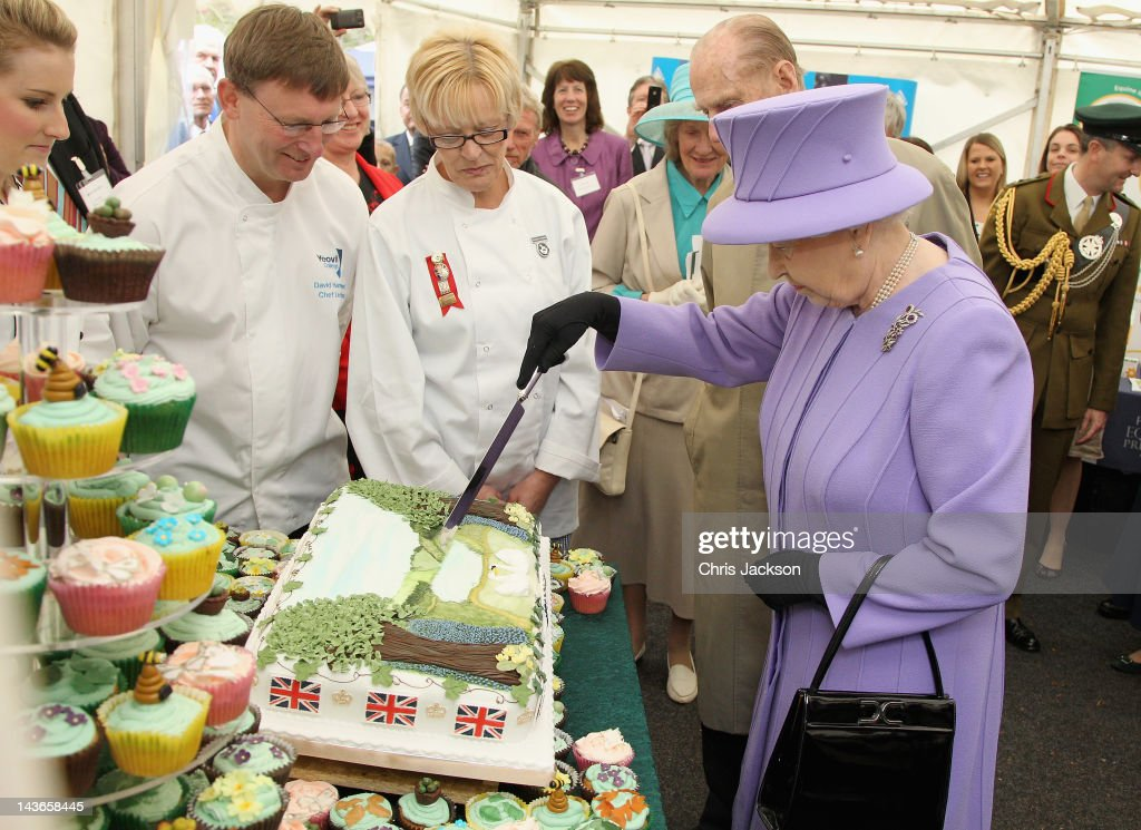 Queen Elizabeth II Visits The South West : News Photo