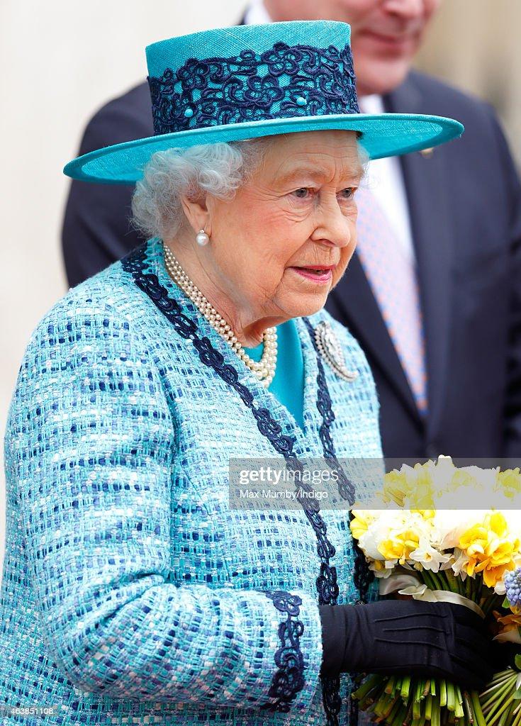 The Queen & Duke Of Edinburgh Officially Reopen Canada House : News Photo