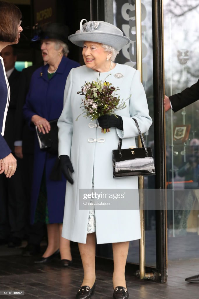 The Queen Visits The Royal College Of Physicians : News Photo