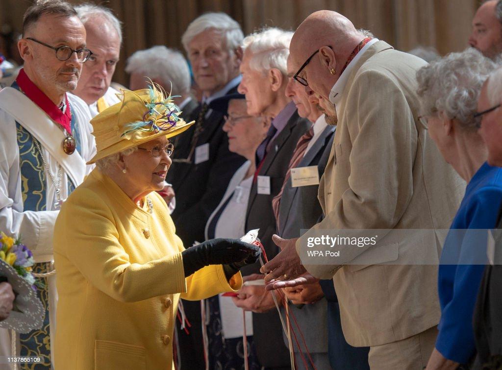 Royal Maundy Service : Nachrichtenfoto