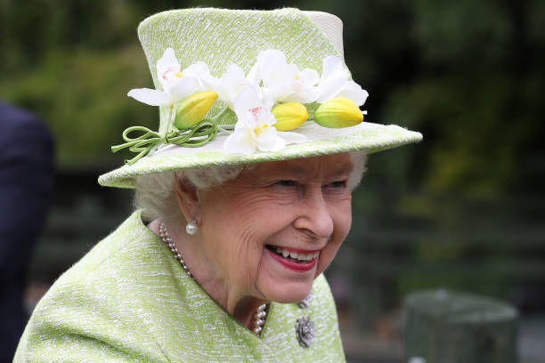 GBR: The Queen Visits Gorgie City Farm
