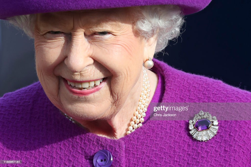 The Queen Visits The Royal British Legion Industries Village : News Photo