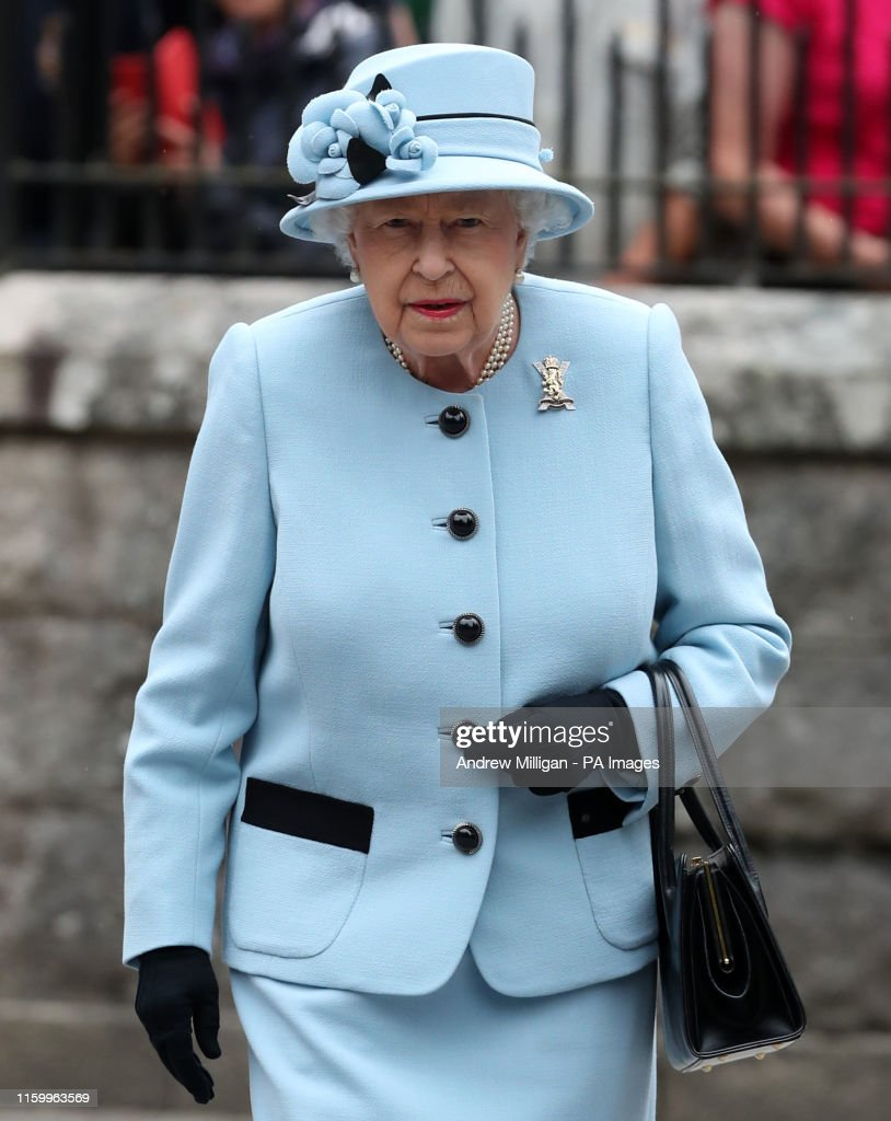 Queen summer residence at Balmoral 2019 : News Photo