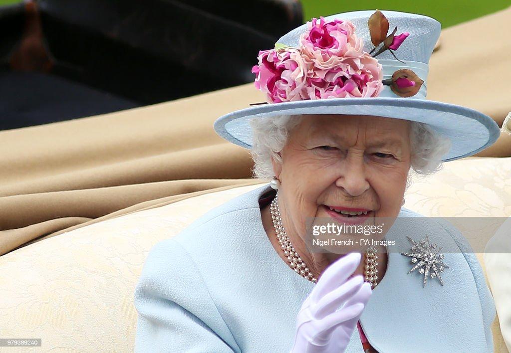 Royal Ascot - Day Two - Ascot Racecourse : News Photo