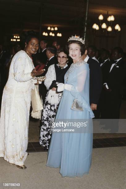 Queen Elizabeth II during her state visit to Malawi July 1979