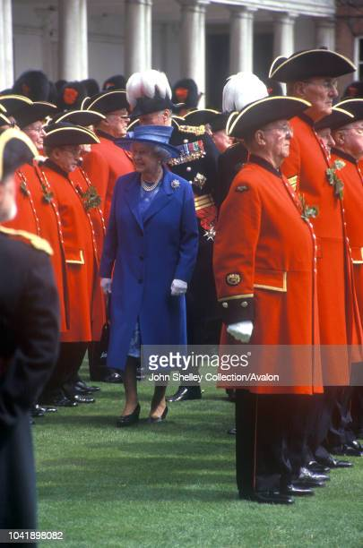 Queen Elizabeth II Founder's Day Parade at the Royal Hospital Chelsea on June 8 8th June 2006