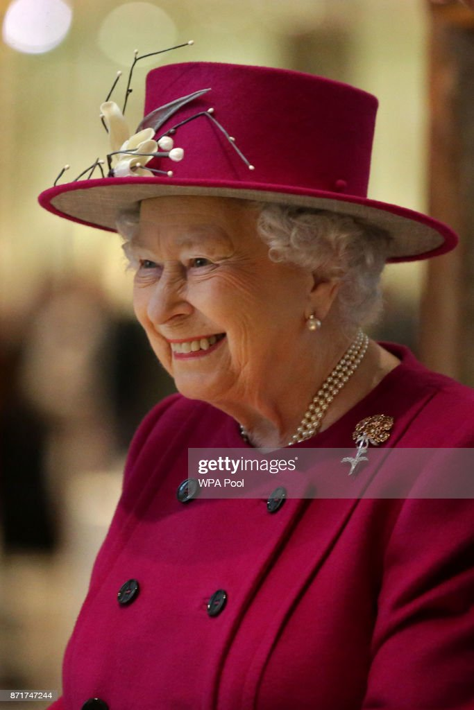 The Queen Reopens The Sir Joseph Hotung Gallery At the British Museum : News Photo
