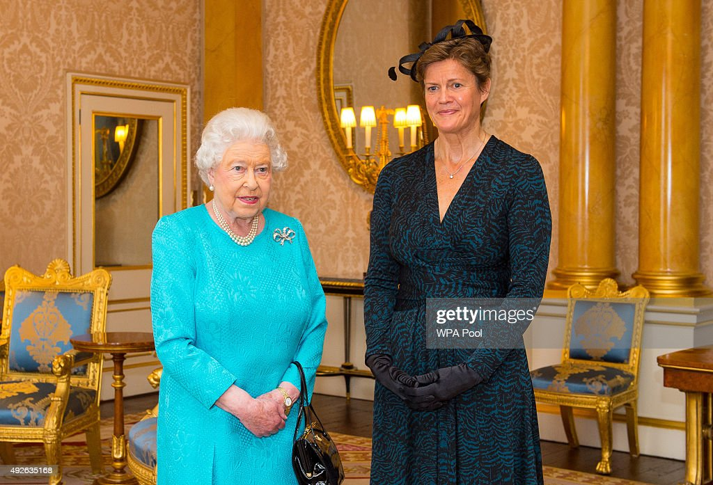 Credentials presented at Buckingham Palace : News Photo