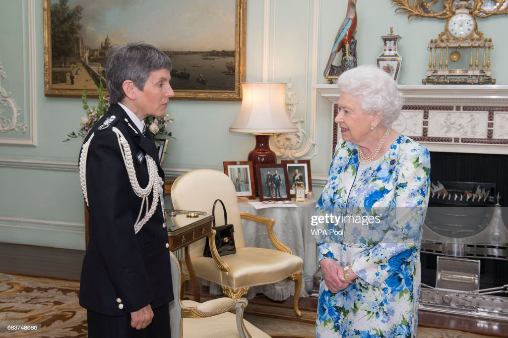 Metropolitan Police Commissioner Attends Audience With The Queen At Buckingham Palace : News Photo