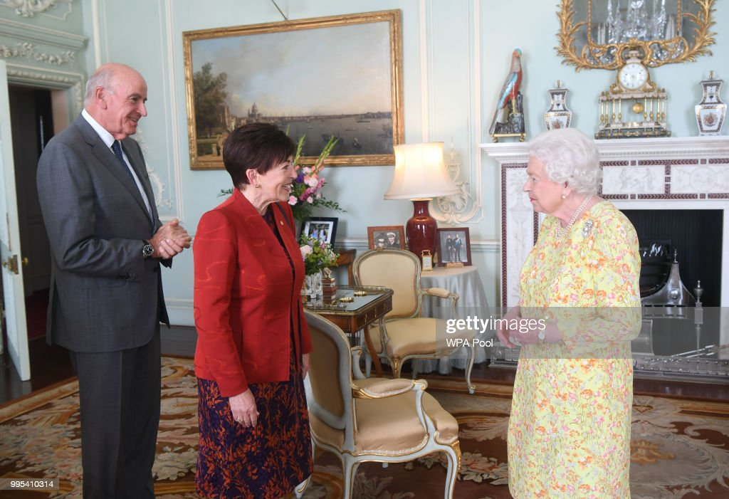 Private Audiences With The Queen : News Photo