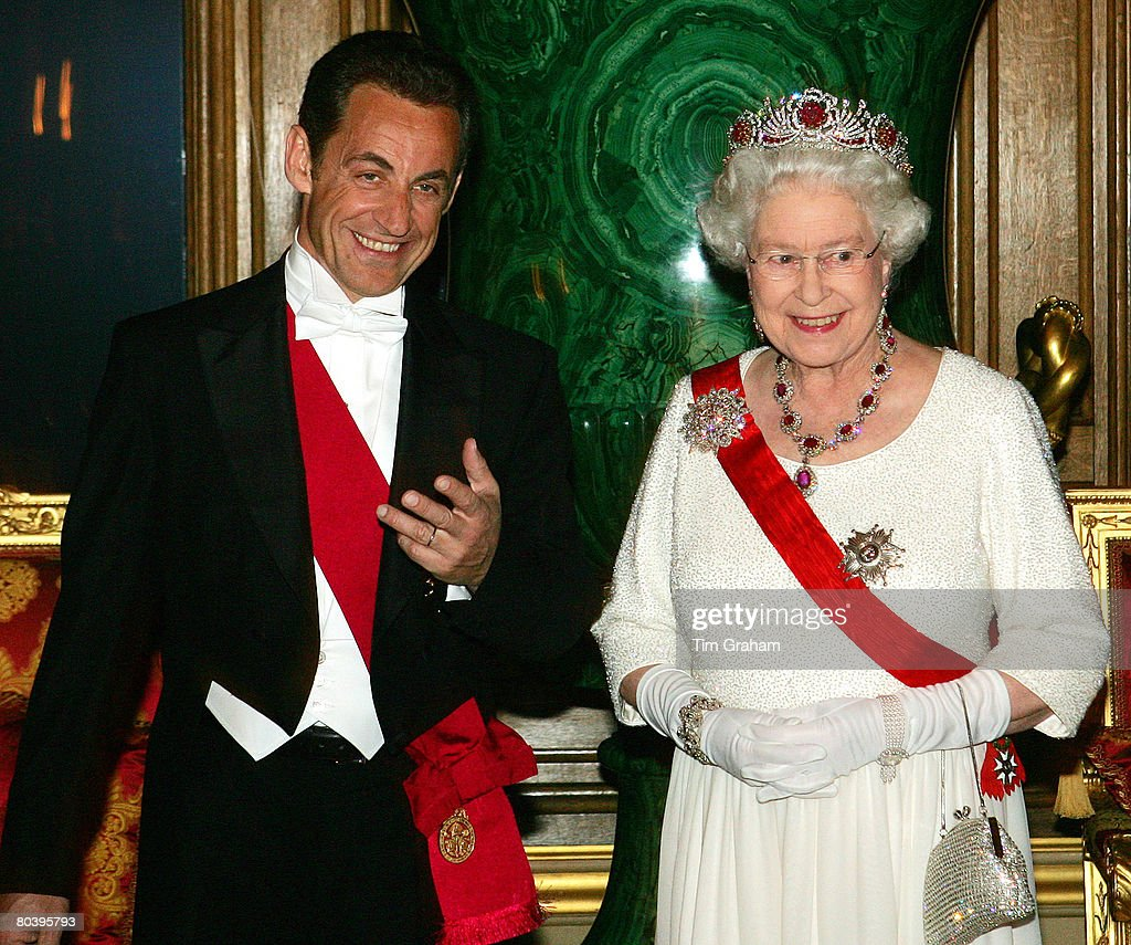 State Banquet For President Sarkozy : Nachrichtenfoto