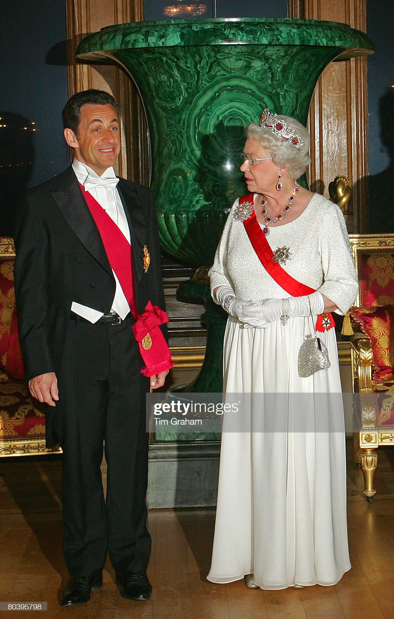 State Banquet For President Sarkozy : News Photo