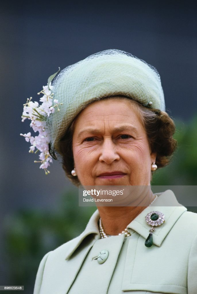 Queen Elizabeth II in Windsor, Canada : News Photo