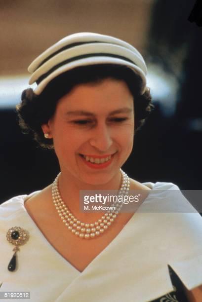 Queen Elizabeth II in Sweden 23rd June 1956