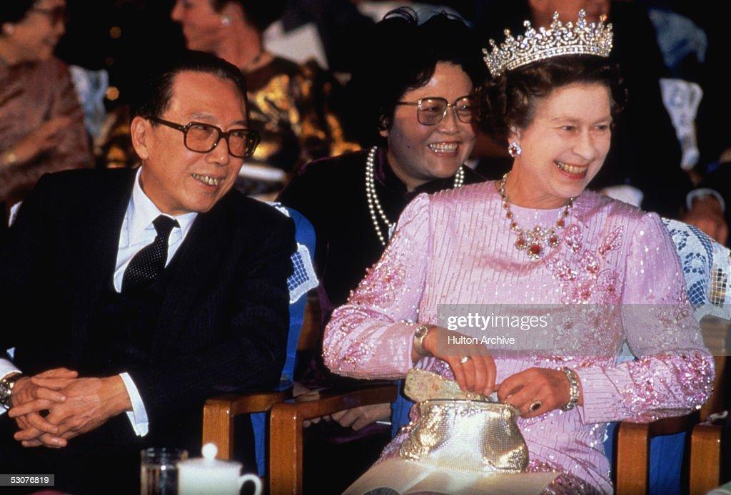 Elizabeth In China : News Photo