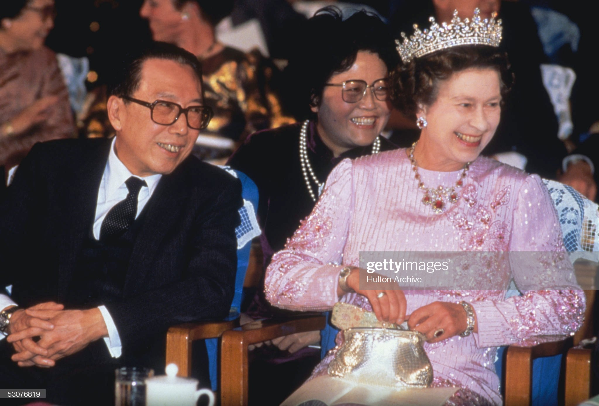 Elizabeth In China : News Photo