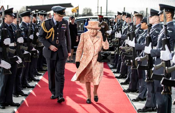 GBR: Her Majesty The Queen Visists RAF Marham