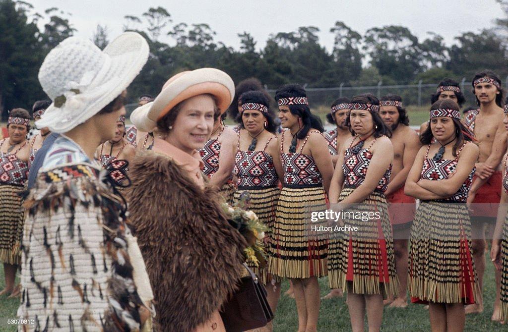 Queen In New Zealand : News Photo