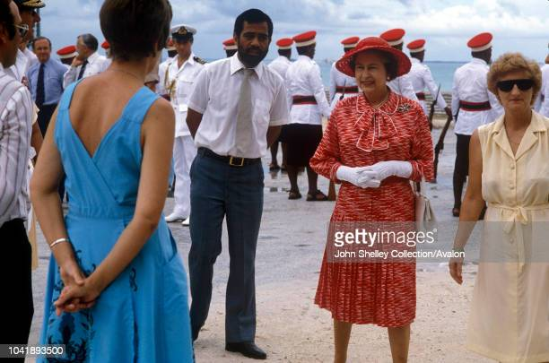 Queen Elizabeth II Kiribati 23rd October 1982