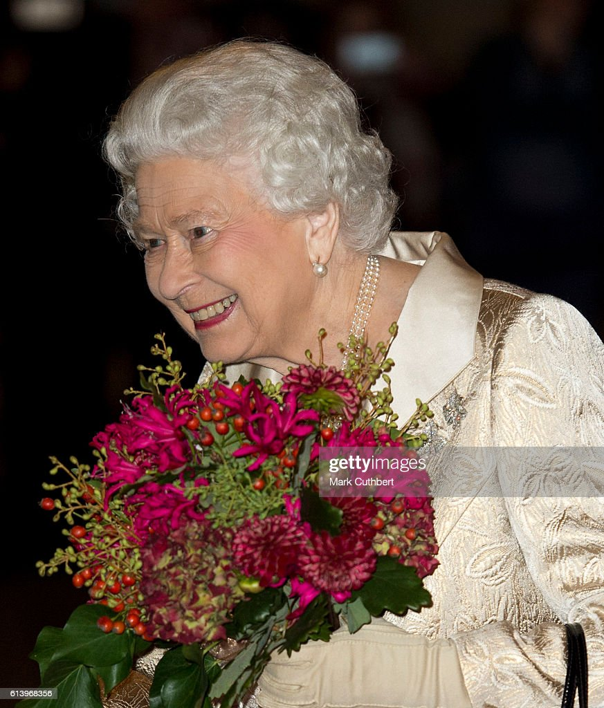 The Queen & Duke Of Edinburgh Attend Awards Ceremony At The Royal Academy Of Arts : News Photo