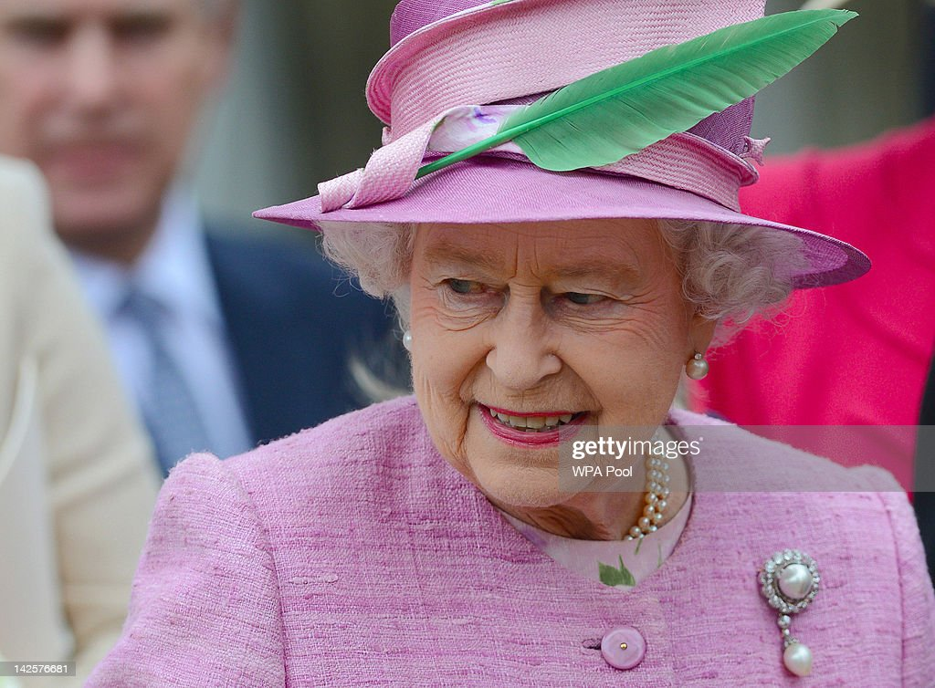 The Royal Family Attend The Easter Mattins Service At Windsor Castle : News Photo