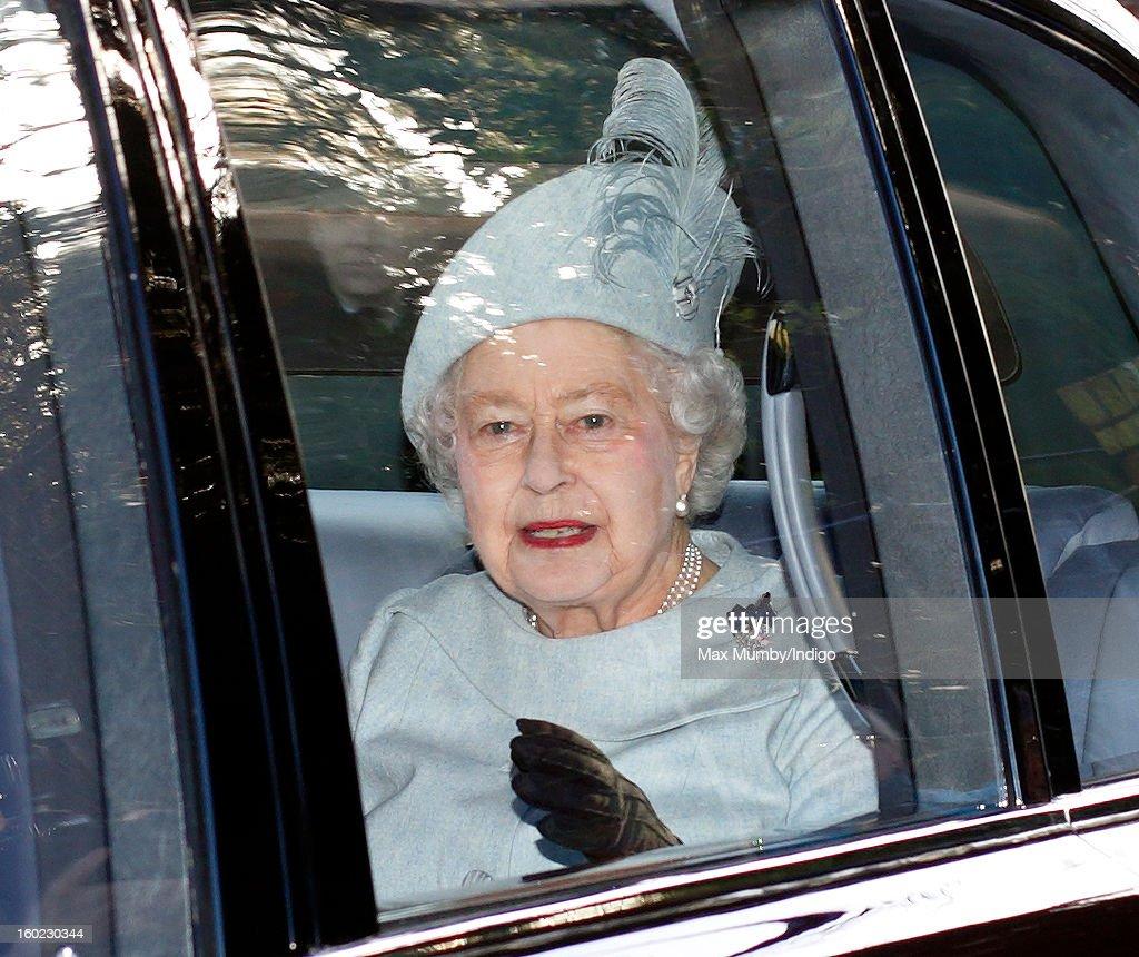 Queen Elizabeth Ii And Prince Philip 2013 HRH Queen Elizabeth II...