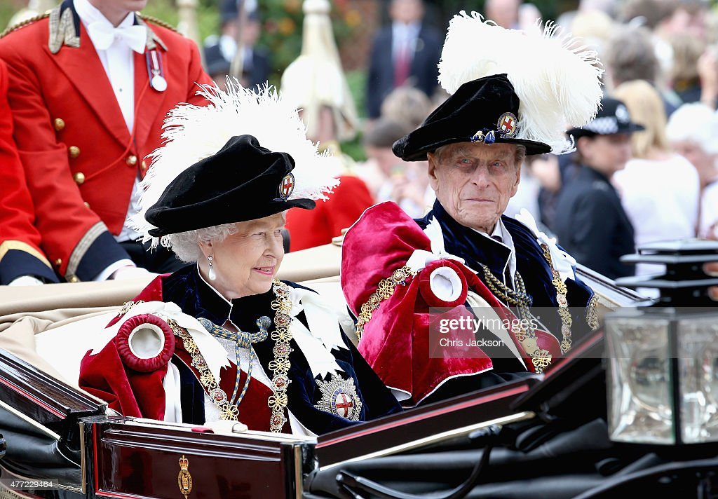 Service Of The Order Of The Garter : News Photo