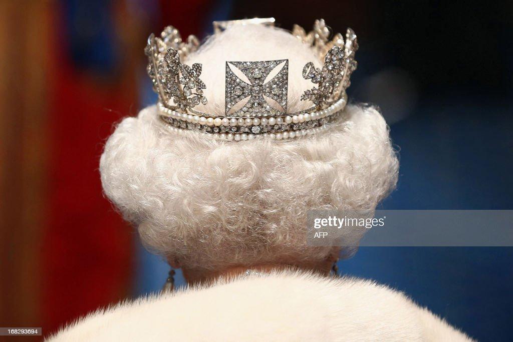 BRITAIN-POLITICS-ROYALS : News Photo
