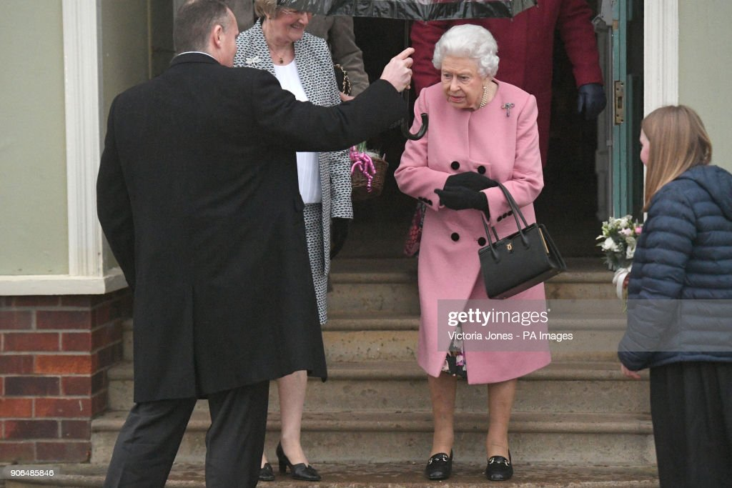 Queen attends WI meeting : News Photo
