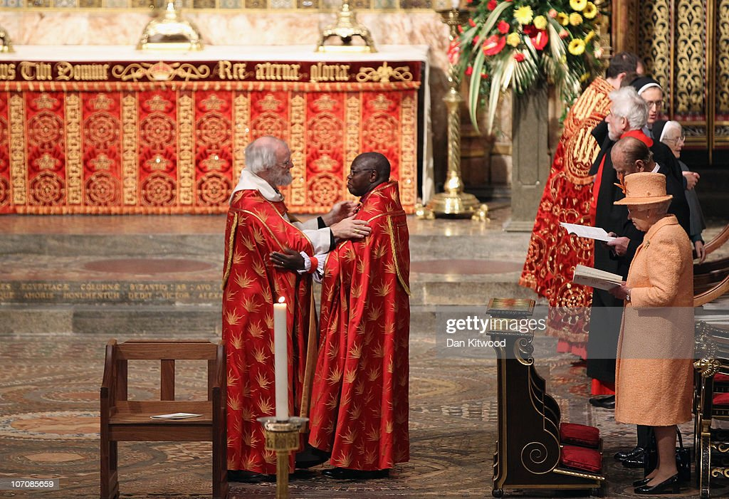 The Queen Attends The Ninth Inauguration Of The General Synod
