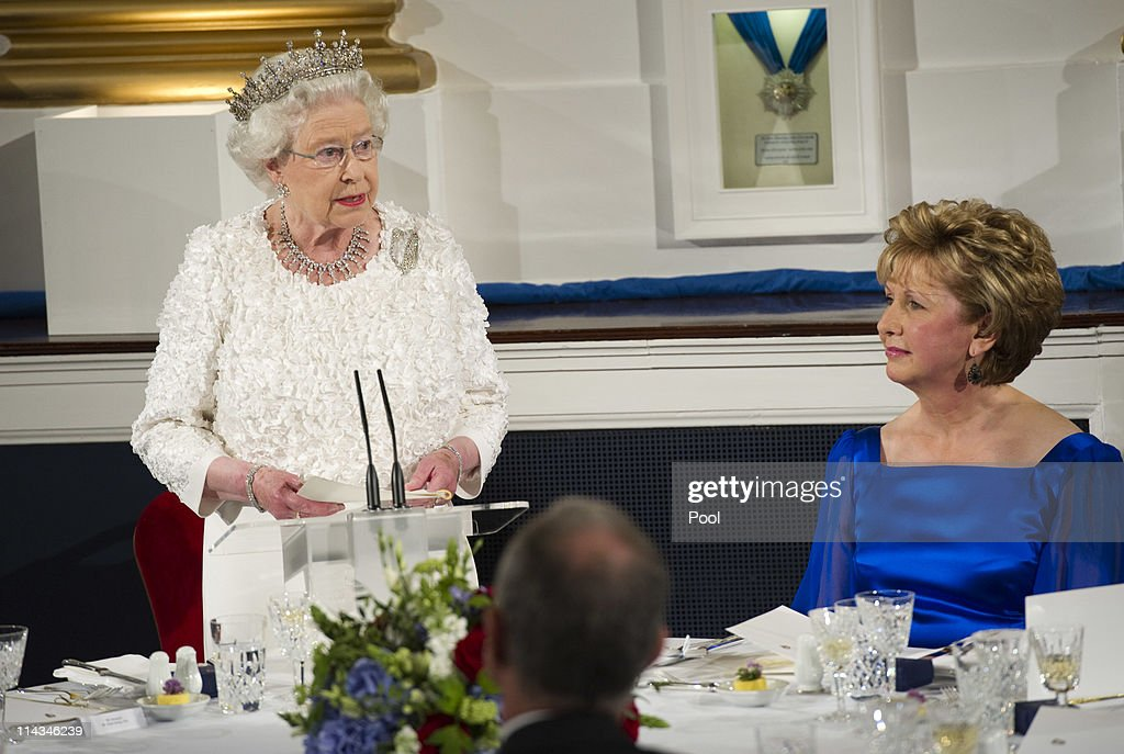 Queen Elizabeth II's Historic Visit To Ireland - Day Two : News Photo